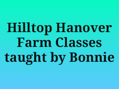 Hilltop Hanover programs with Bonnie