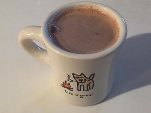 Healthy Hot Chocolate – What a treat